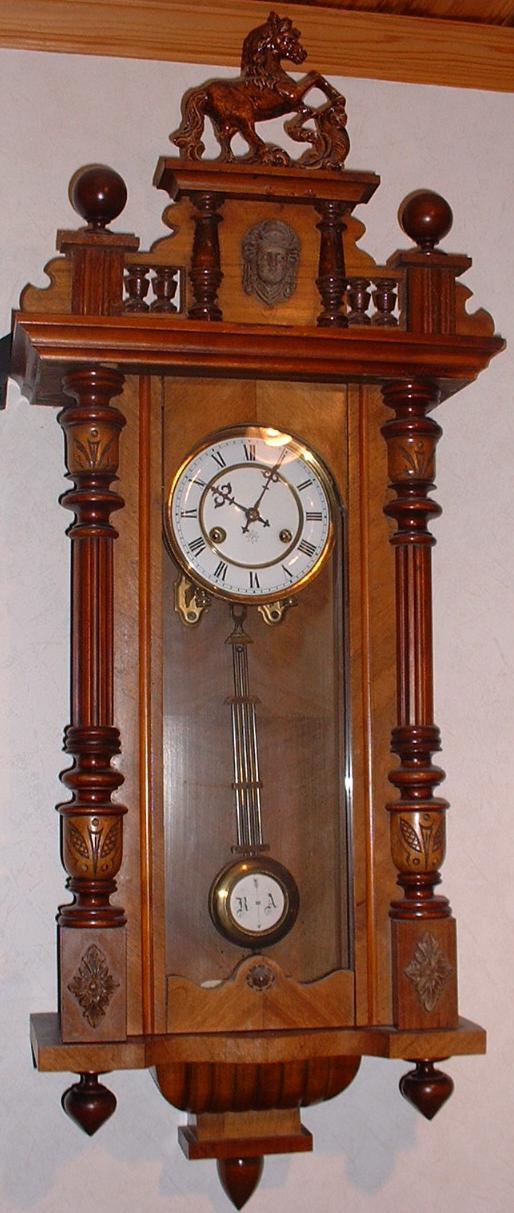 Junghams wall swinging pendulum clock